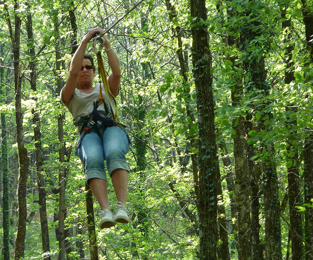 More than 40 zip wires